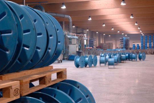 Belgian manufacturer of custom industrial reels